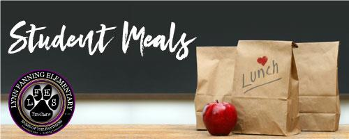 Lynn Fanning Student Meals graphic
