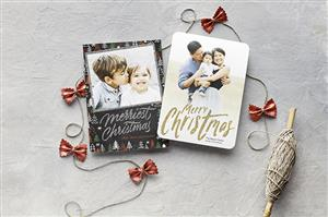 Shutterfly holiday card example